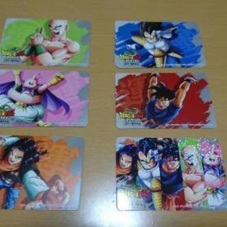 ドラゴンボールカード 各種6枚