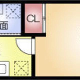 堺筋本町5分 家賃32,000円 共益費4,000円 25㎡  1K