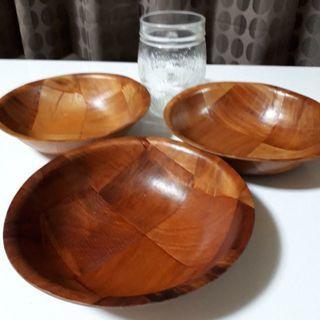 鍋しゃもじ、皿、木製ボール皿