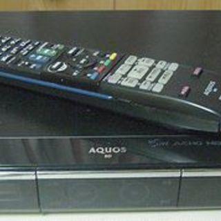 SHARP AQUOS BD/DVDレコーダー