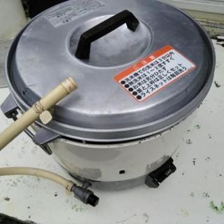値下げしました。都市ガス用の2升炊き炊飯器