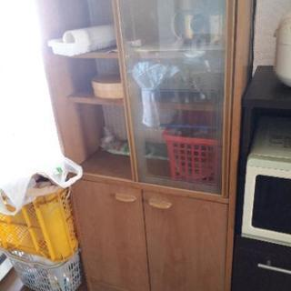 ジャンク 小さい食器棚