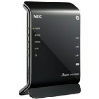 NEC   無線ルーター  PA-WG1200HG