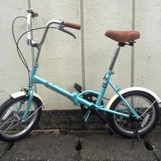 折りたたみ自転車 古いけれどほぼ新品未使用