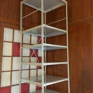無印 グレー Utlity Shelf