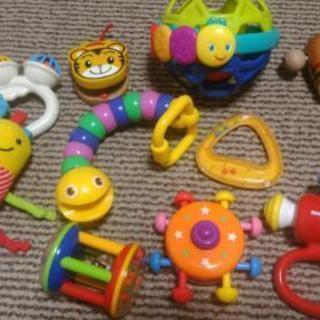 赤ちゃんのおもちゃ10点セット