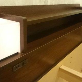 セミダブルベッドフレーム - 家具
