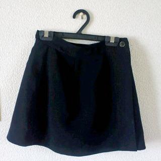 値下げ再投稿 黒のラップスカート