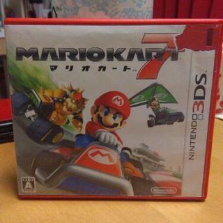 ニンテンドー3DS マリオカート7  中古ソフト