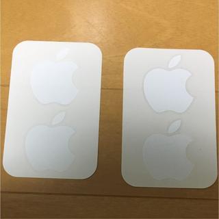アップル シール 二枚セット