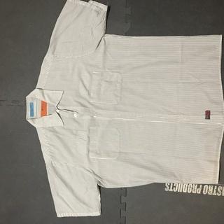 REDKAPワークシャツ(古着)薄生地
