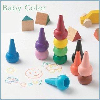 ベビーコロール 幼児用クレヨン 12色