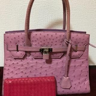★ボッテガヴェネタ 財布・オーストリッチ 鞄 セット販売★