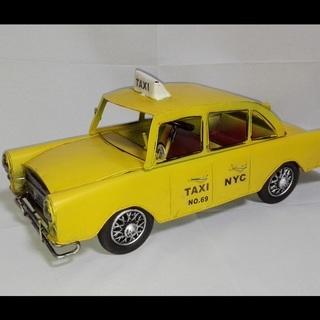 昭和レトロなブリキのおもちゃ,  YELLOW CAB