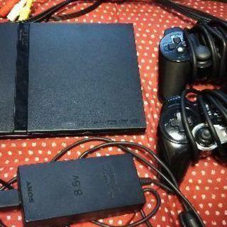 PS2本体(箱説以外完備)+メモリーカード+別売コントローラー1...
