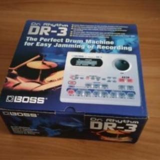 BOSS DR-3 ドラムマシン リズムマシン