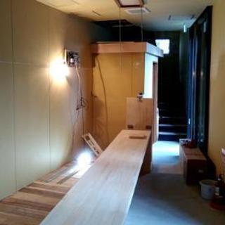 店舗の内装造作の施工(便利屋の田中)