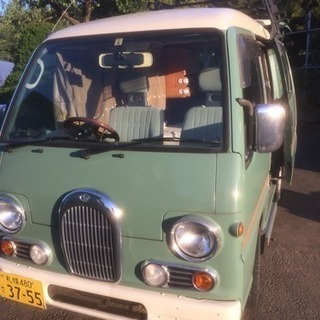 車中泊仕様 スバルサンバークラシック MT 2WD