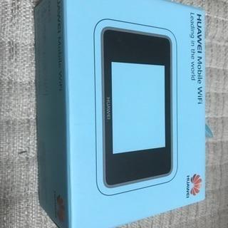【新品・美品】HUAWEI モバイルルーター ポケットWi-Fi