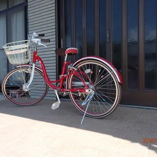 女子小学高学年用自転車