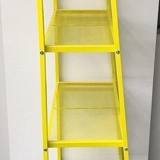 ※引き取り限定※ IKEAレールベリ シェルフユニット イエロー 2点 - 家具