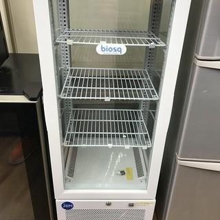 【安心!6ヶ月保障付】店舗等ディスプレイに!4面ガラスの冷蔵ショ...