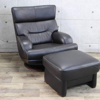 R88)カリモク ZT59071人掛け椅子 ZT0036スツール ...