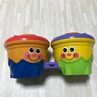 フィッシャープライス おもちゃ でんでん太鼓?