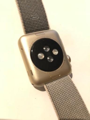 apple watch 1 38mm gold megu924 浜町のmacの中古あげます 譲ります