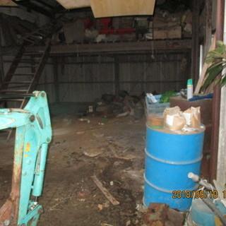 福岡、農機具倉庫、ごみかたずけ、引き取り、処分格安