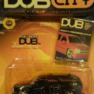 1/64 jada toys DUB CITY '00 CHEV...