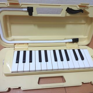 YAMAHA ピアニカ 鍵盤ハーモニカ 25鍵盤 P-25F 収...