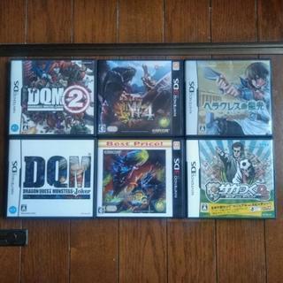 DS、3DSソフト6本セット(おまけ付)
