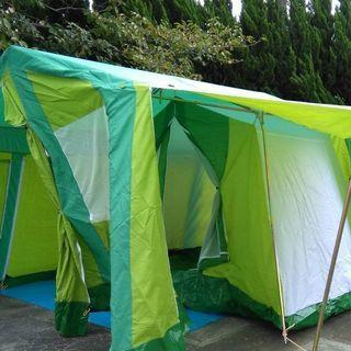 週末価格 小川ファミリーキャンプテント2050