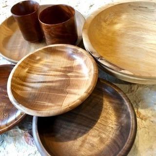 木の器や木製キャンドルスタンドを手作りしませんか?ご自分だけの温...