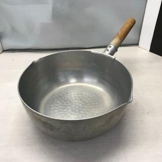 片手雪平鍋 アカオ 27 業務用 両口