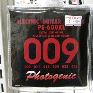 Photogenic フォトジェニック エレキギター用弦 .00...