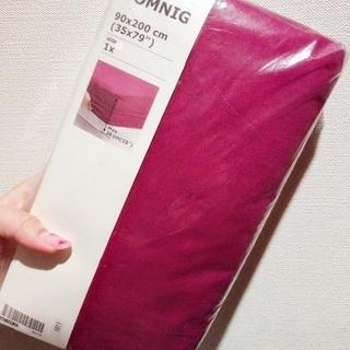 IKEA イケア シングルベッド シーツ SOMNIG 90x200cm