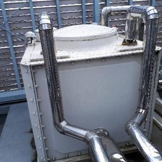 貯水槽組み立て 貯水槽リニューアル工事