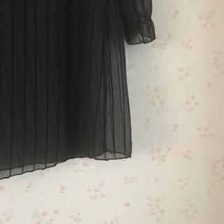 新品  黒  透けワンピース