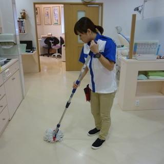 任された持ち場を自分のペースでコツコツと行う、お掃除のお仕事です☆