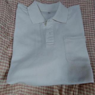 140サイズ 難あり男児白ポロシャツ その他