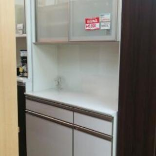 綾野製作所◆レンジボード◆食器棚◆ブルモーション◆モイス