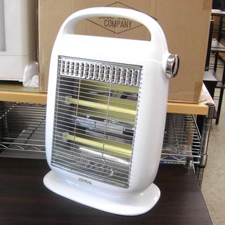 電気ストーブ ZEPEAL DD-A803-WH 暖房 コンパクト...