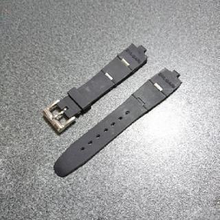ブルガリ 腕時計アルミニウムAL32TA・A 社外新品交換用ラバーベルト