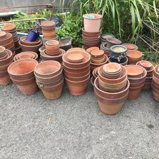 中古の植木鉢💗大きさ色々💗1個50円💗引き取り限定