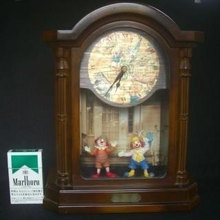 キーボツクス付き置時計