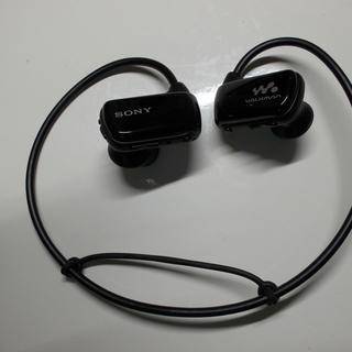 値下げ!SONYウォークマン 型番:NW-W274S (8GB・ブラック)、使用感少なめ - 越谷市