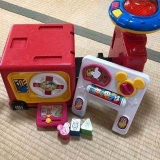 ディズニー 乗り物 2way おもちゃ