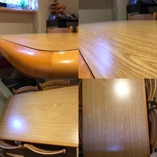 4人掛けダイニングテーブルセット - 寝屋川市